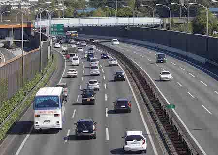高速の渋滞
